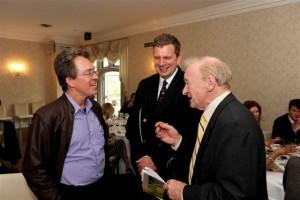 Felipe,Dr. Woody Fisher and Bill Lambert